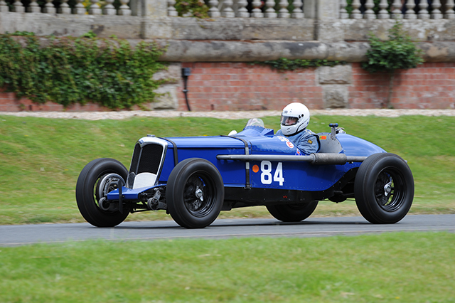 Rob Cobden in the Riley Falcon Special