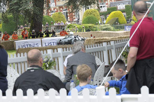 Opportunities for private hospitality areas at the Chateau Impney Hill Climb