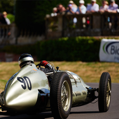 Chateau Impney Hill Climb Historic Motorsport Event Droitwich
