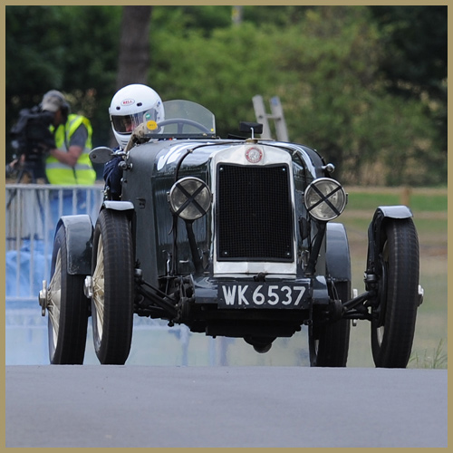 Lea-Francis Hyper at the Chateau Impney Hill Climb, Droitwich