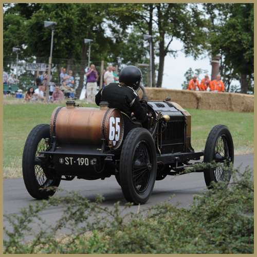 De Dietrich at the Chateau Impney Hill Climb, Droitwich