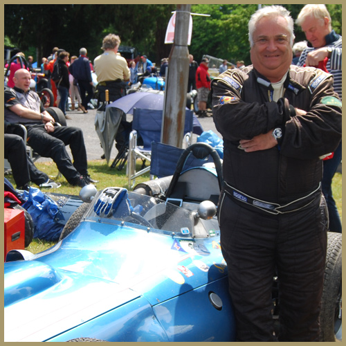 Julian Bronson, Scarab, Chateau Impney Hill Climb, Droitwich