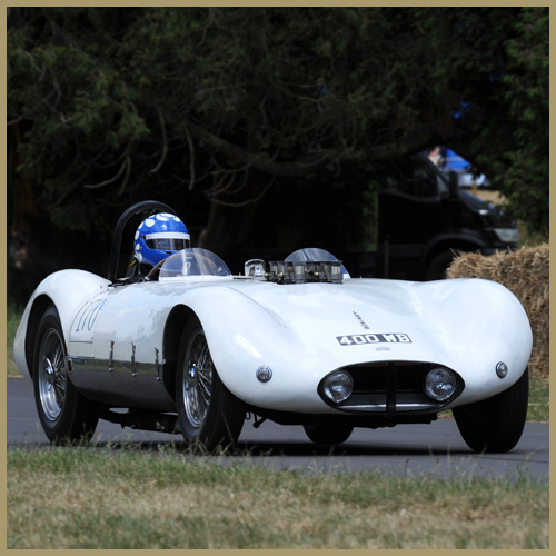 Chapman Mercury MKIII at the Chateau Impney Hill Climb, Droitwich