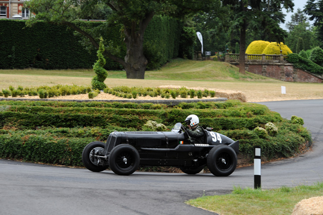 ERA R10B at the Chateau Impney Hill Climb, Droitwich