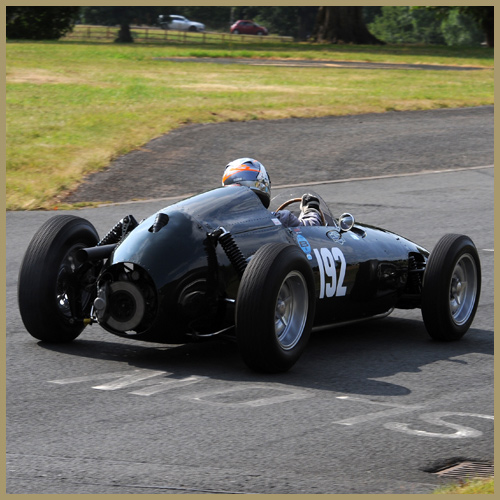 BRM P48 at the Chateau Impney Hill Climb, Droitwich