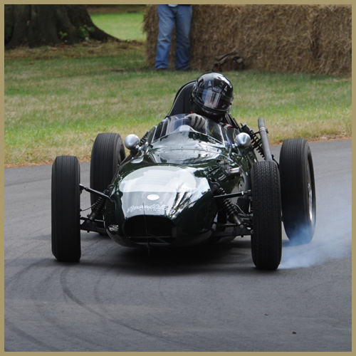 Elva 100 at the Chateau Impney Hill Climb, Droitwich