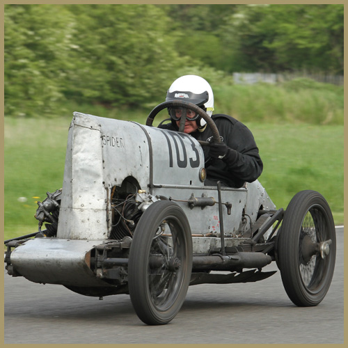 Curborough 2014: David Leigh in GN Spider, Chateau Impney Hill Climb News, Droitwich