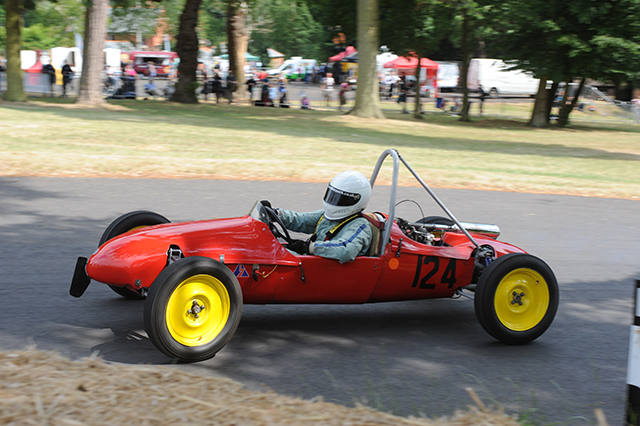 Alfa Dana 500 at the Chateau Impney Hill Climb, Droitwich