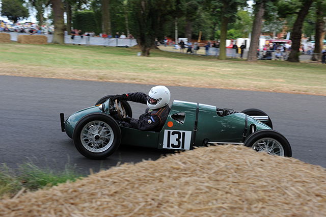 Staride Mk III at the Chateau Impney Hill Climb, Droitwich