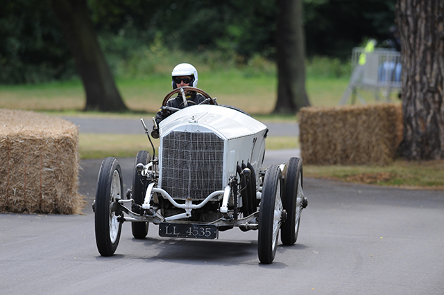 Daimler Mercedes Rennwagen at the Chateau Impney Hill Climb, Droitwich