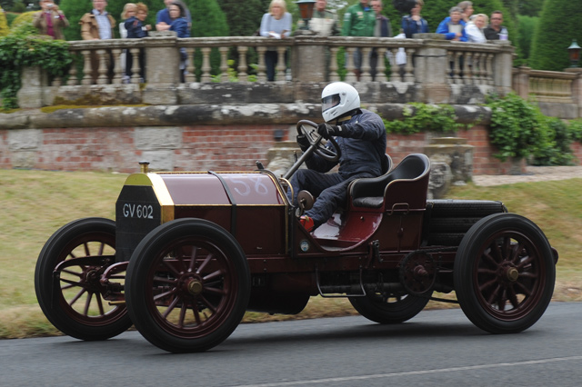 Mercedes 60HP at the Chateau Impney Hill Climb, Droitwich