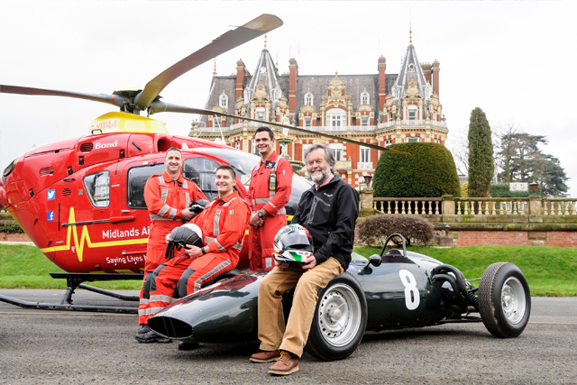 Midlands Air Ambulance Charity at Chateau Impney Hill Climb, Droitwich